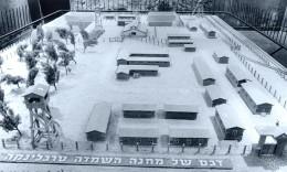 A model of the Treblinka death camp