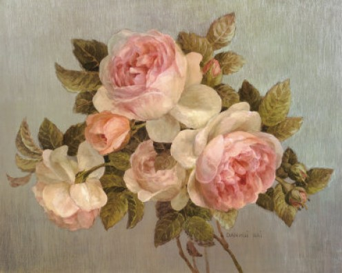 Antique Rose Poster