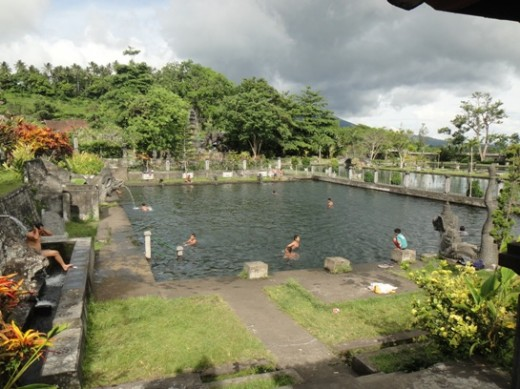 Water Palace - Tirta Ganga - Swimming Pool