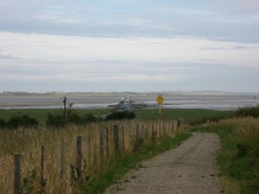 Ridge from the causeway
