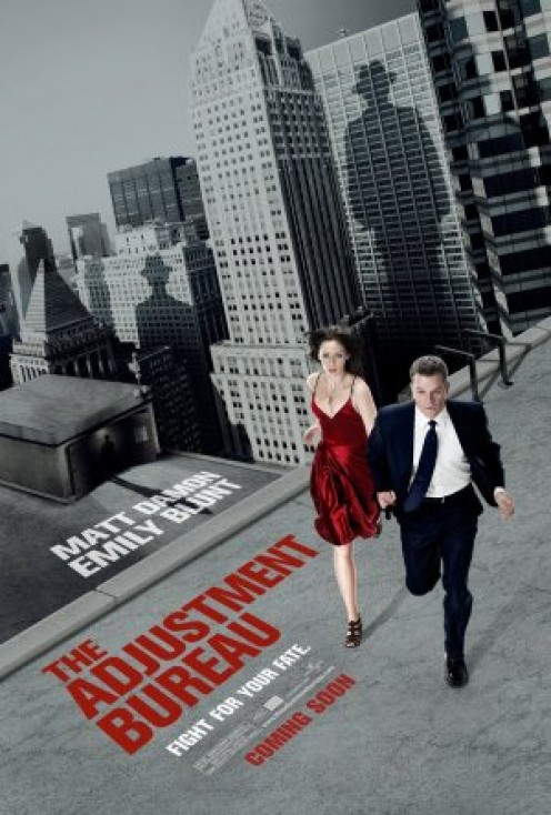 The Adjustment Bureau poster (2011)