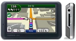 The Garmin nuvi 1245 GPS offers lane assistance, recognizes spoken street names and displays speed limits.