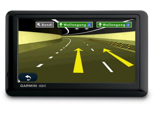 The Garmin nuvi 1490 GPS offers Bluetooth functionality, lane assist, displays junctions, recognizes spoken street names and displays speed limits.
