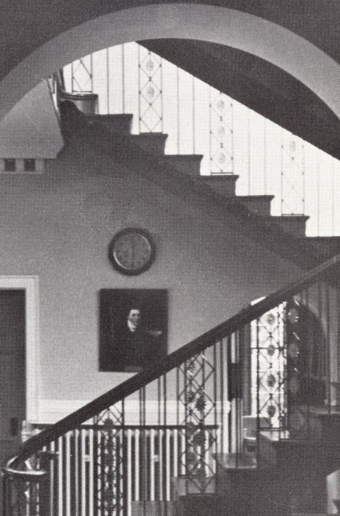 Henry Greswolde Lewis + Malvern Hall's Old Staircase