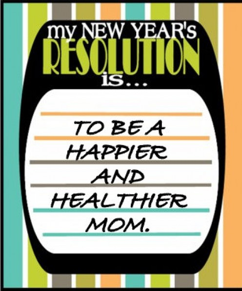 My main resolution for the new year as a mom.