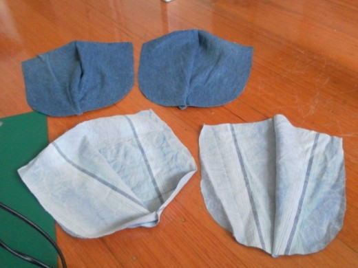 Cover and lining pairs.