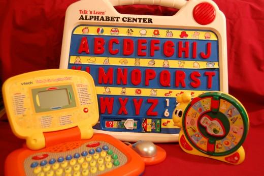 Electronic alphabet toys