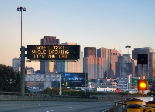 States Are Now Beginning To Ban Text Messaging While Driving