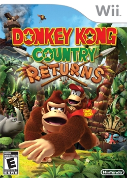 Donkey Kong Country Returns (2010, Wii)