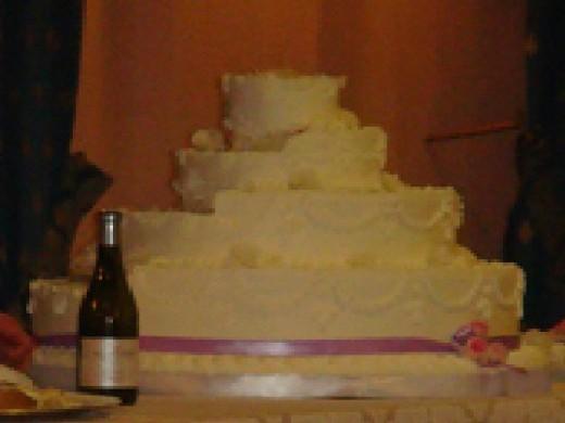 Big cake.