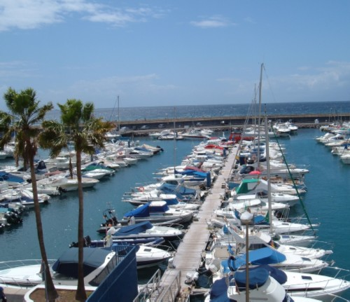 Puerto Colon marina. Photo by Steve Andrews