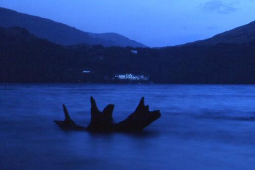 Loch Lomond at night - long exposure