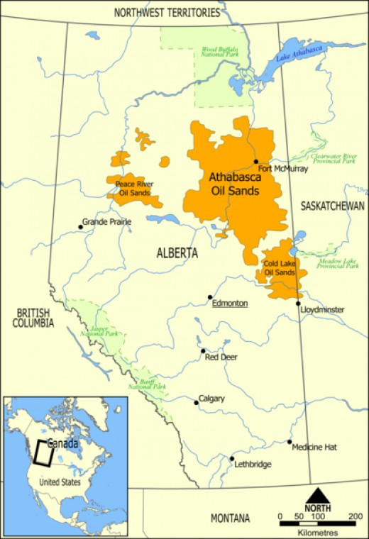 Oil Sands in Alberta
