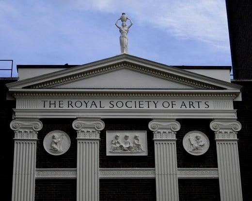 THE ROYAL SOCIETY OF ARTS