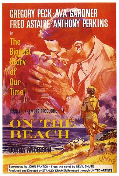 On the Beach - poster