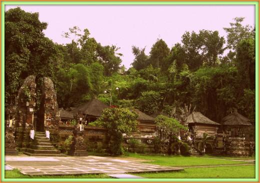 Gunung Kawi Temple in Tampaksiring.