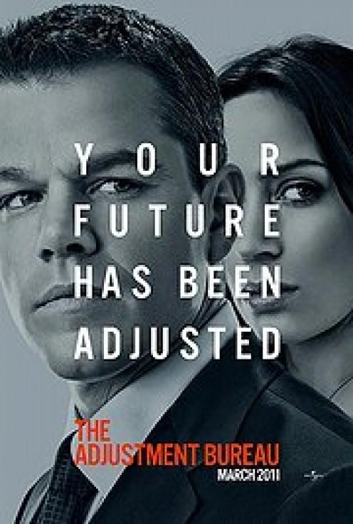 The Adjustment Bureau teaser poster (2011)