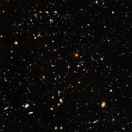 Looking Back to the Big Bang with the Hubble Telescope