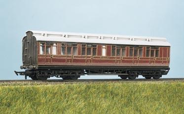 Ratio Midland Railway clerestory suburban coach in 4mm