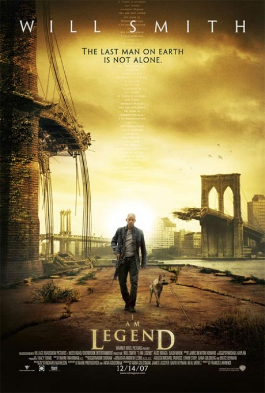 I Am Legend - poster