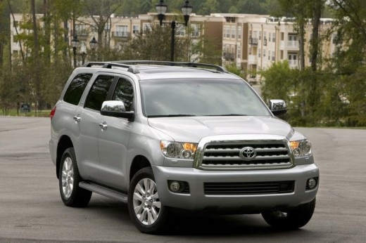 Toyota Sequoia, clearly the largest tree in the world.  Wait, no, that's some sort of Stupid Ugly Vehicle.