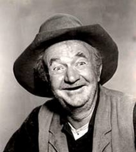 THE LATE WALTER BRENNAN