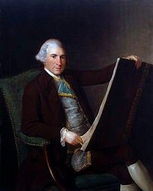 Portrait of Robert Adam in the 1770s
