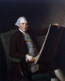 Portrait of Robert Adam in the 1770s