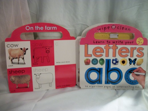 Wipe Clean alphabet books