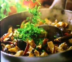 Shredded Chicken With Mushroom Recipe.