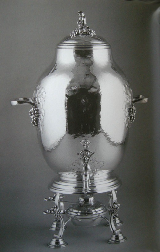 Samovar, late 1930s, Musee McCord, from the collection of Mme Samuel Bronfman