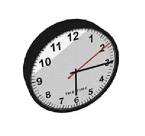 Clocks are now used as the world's primary timekeeping devices.