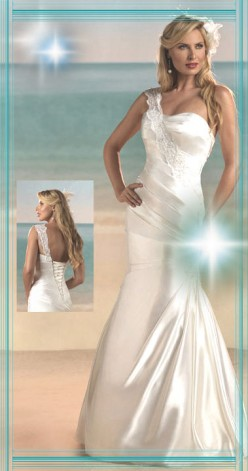 Beach Slinky Mermaid Lace Up Gown Ebay