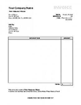 Microsoft Excel Invoice Templates