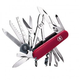Victorinox Swiss Army Champ Pocket Knife: one of the most complete pocket knives.