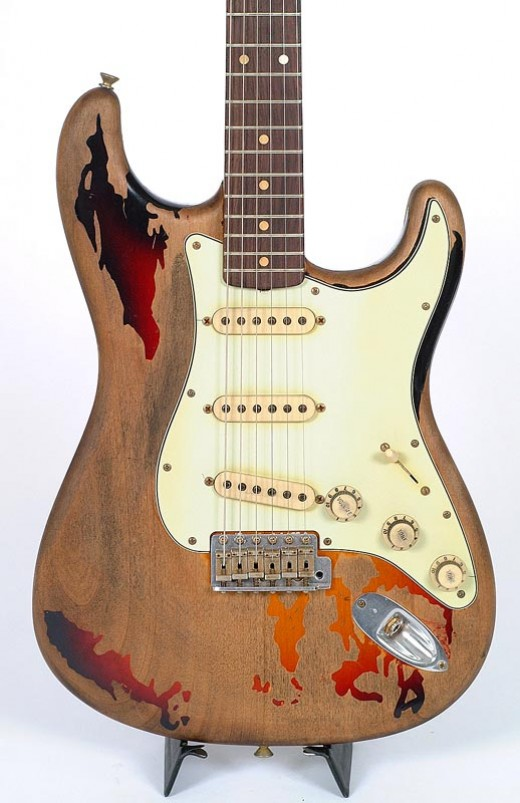 Rory Gallagher's famous 1961 Fenter Stratocaster