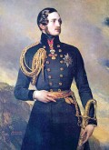 Prince Albert, Queen Victoria's consort and a force behind the organization of the Great Exhibition
