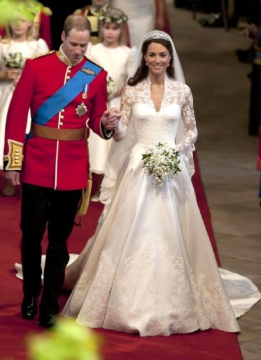 Kate Middleton became Duchess of Cambridge when she married Britain's Prince William.