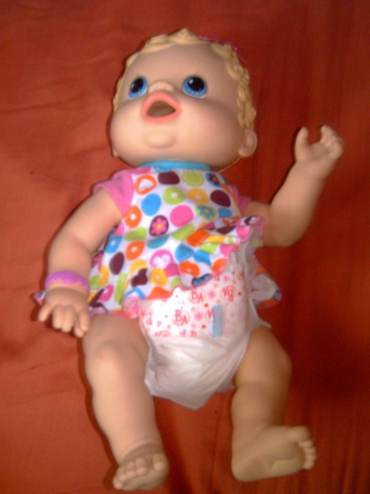 The doll with sounds (???)