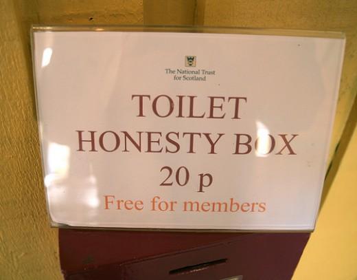 Honour demands honesty ...