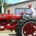 """I fire up my Farmall tractor...and head out miles away...out in the country."" MPM"