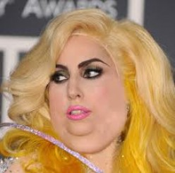 LADY GAGA PROVES THAT BAD WIGS AND HAIR WEAVES CAN BE LESS THAN ENJOYABLE.