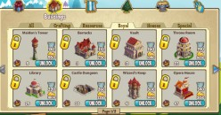Level up in Castleville: Free Castleville Crowns