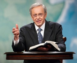 Dr. Charles Stanley of In Touch Ministries.