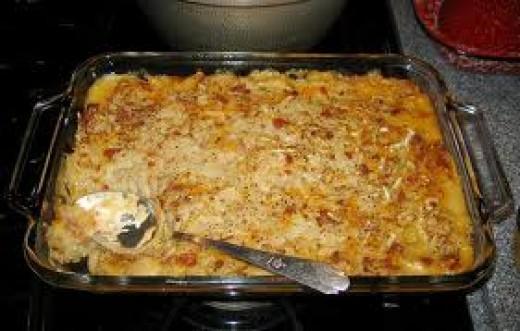 Baked Mashed Potato Casserole