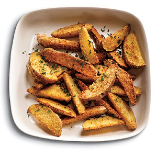 Rosemary Sprinkled Wedges