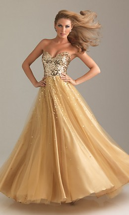 www.simplydresses.com SEQUIN BALL GOWN BY NIGHT MOVES 6499
