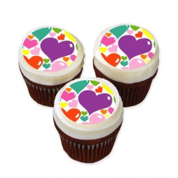 Valentine's Day Cup Cakes