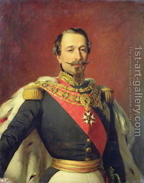 Louis Napoleon III, the troublesome, equivocating leader of France