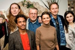 From the left: E-Type, Timbuktu, Mikael Wiehe, Lena Ph, Tomas Ledin and Laleh
